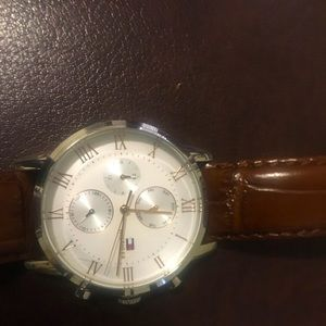 Tommy Hilfiger Stainless steel waterproof watch